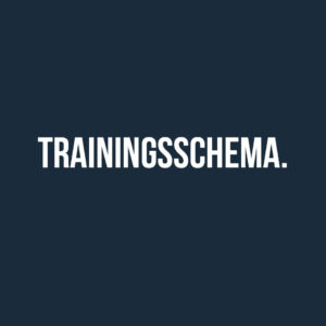 TRAININGSSCHEMA